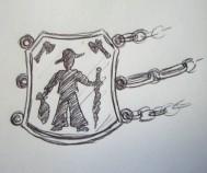 Entwurf Uhrenkette Wandergeselle