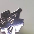 Pin Zunftzeichen Maurer Silber poliert